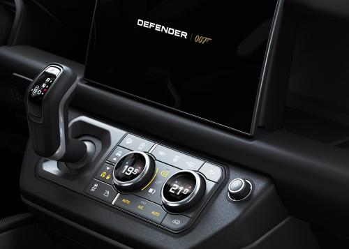 INTERIOR DETAIL - DEFENDER V8 BOND EDITION