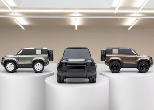 Land Rover entwirft limitierte Auflage des Defender 90 Design Icon Model