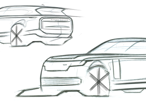 SKETCH - THE NEW RANGE ROVER