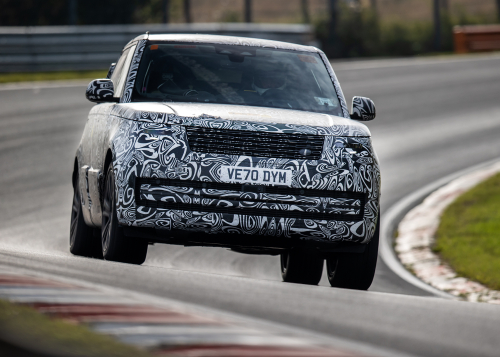 TESTING AND DEVELOPMENT - THE NEW RANGE ROVER