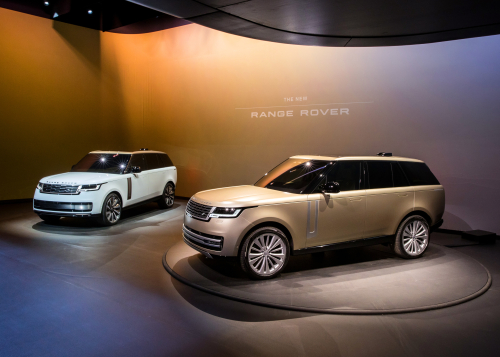 WORLD PREMIERE - THE NEW RANGE ROVER IS UNVEILED