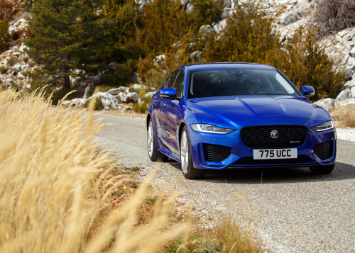 STATIC - NEW JAGUAR XE, SOUTHERN FRANCE