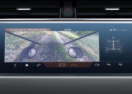 ClearSight Ground View - New Range Rover Evoque