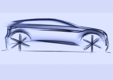Design Sketches - New Range Rover Evoque
