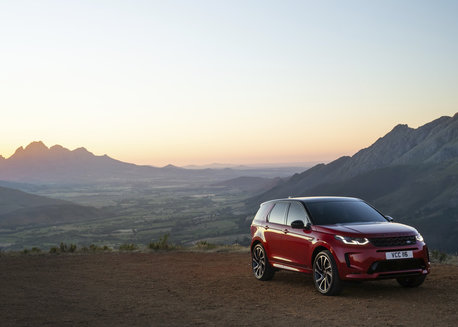 STATIC – NEW DISCOVERY SPORT