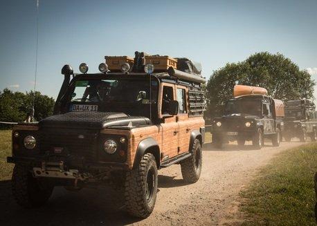 """Bad Kissingen: Land Rover Island im Mittelpunkt  von Europas größter 4x4-Messe """"Abenteuer & Allrad"""""""