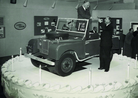 Land Rover Tenth Birthday 1958