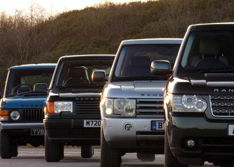 Iconic Range Rover Turns 40