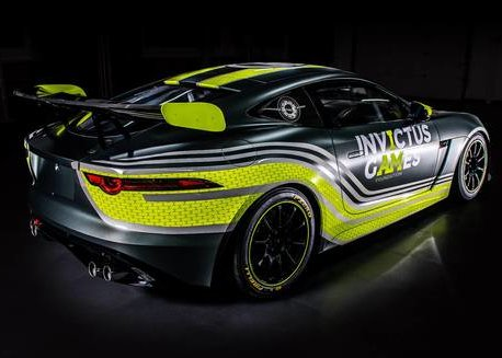INVICTUS GAMES RACING JAGUAR F-TYPE SVR