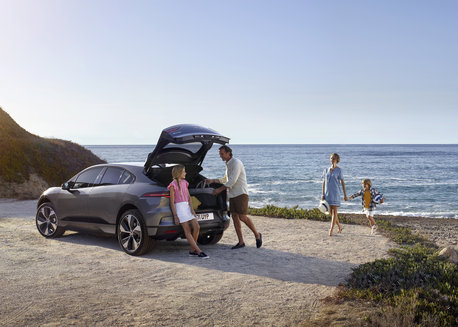 LOCATION STATIC - NEW ALL-ELECTRIC JAGUAR I-PACE
