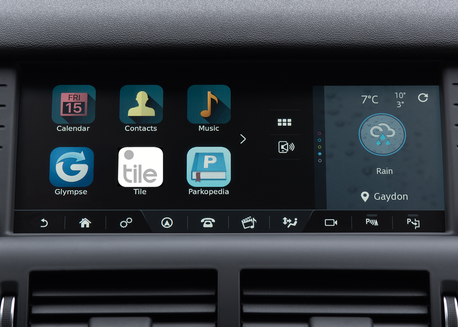 Land Rover Tile App