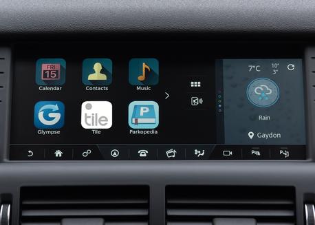 Land Rover Tile App